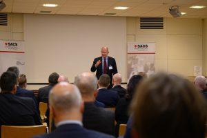 Dan Eliasson presenterar för SACS
